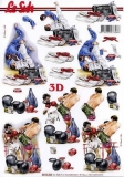 3D-Bogen Judo & Boxen von Nouvelle (8215322)