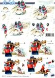 3D-Bogen Bob & Biathlon von Nouvelle (8215711)