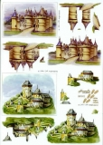 3D-Bogen Schlösser von Nouvelle (821512)