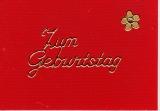 Sticker - Zum Geburtstag 1 - gold - 401