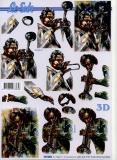 3D-Bogen Musiker von LeSuh (777.052)