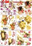3D-Bogen Musikinstrumente von Nouvelle (8215515)
