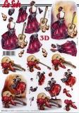 3D-Bogen Flamenco von Nouvelle (8215543)