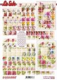 3D-Bogen Squares Blumen von LeSuh (630.222)