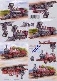 3D-Bogen Dampfzug von Nouvelle (8215136)