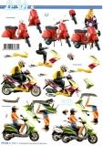 3D-Bogen Motorroller von LeSuh (777.412)