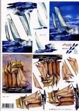 3D-Bogen Segelschiffe von Nouvelle (8215110)