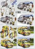 3D-Bogen Krankenwagen von Nouvelle (8215169)