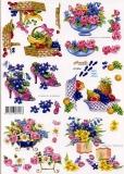 3D-Bogen Obst & Blumen klein von Nouvelle (821534)