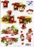 3D-Bogen Erdbeermarmelade von Nouvelle (821543)