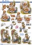 3D-Bogen Strohpuppen von Nouvelle (8215286)