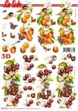 3D-Bogen Pfirsiche & Kirschen von Nouvelle (8215324)