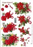 3D-Bogen Weihnachtsstrauß von LeSuh (416909)