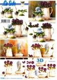 3D-Bogen Blumen-Gefäße von LeSuh (777.045)