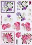 3D-Bogen Blumen von LeSuh (4169457)
