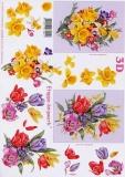 3D-Bogen Frühlingsstrauß von LeSuh (4169228)