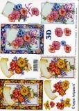 3D-Bogen Blumen von LeSuh (4169267)