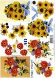 3D-Bogen Blumen von LeSuh (4169360)