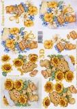 3D-Bogen Blumenbärchen von LeSuh (4169436)
