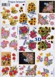 3D-Bogen Blumen klein von LeSuh (4169373)