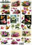 3D-Bogen Rosen klein von LeSuh (4169632)