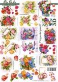 3D-Bogen Blumen klein von LeSuh (4169670)