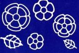 Sticker - Blumen 18 - weiß - 1114