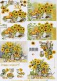 3D-Bogen Sonnenblumen von LeSuh (4169502)