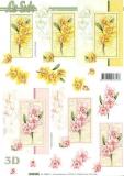 3D-Bogen Blumen von LeSuh (4169695)