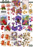 3D-Bogen Blumen klein von LeSuh (4169683)