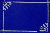 Sticker - Rand und Ecken Weihnachten 3 - silber - 983