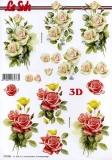 3D-Bogen Rosen von LeSuh (777.021)