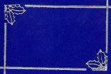 Sticker - Rand und Ecken Weihnachten 4 - silber - 984