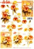 3D-Bogen Blumen von LeSuh (777.057)