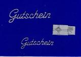 Sticker - Gutschein - silber  - 417