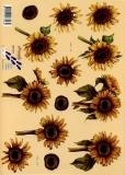 3D-Bogen Sonnenblumen von Nouvelle (821564)