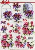 3D-Bogen Tulpen & Flieder von Nouvelle (8215236)