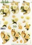 3D-Bogen Rosen von Nouvelle (8215334)