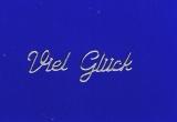 Sticker - Viel Glück - silber - 405