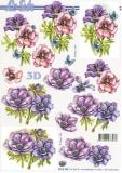 3D-Bogen Blumen von Nouvelle (8215345)