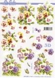 3D-Bogen Veilchen von Nouvelle (8215360)