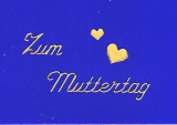 Sticker - Zum Muttertag - gold - 421