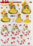 3D-Bogen Blumenelfen von Nouvelle (8215598)