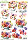 3D-Bogen Blumen in Vase von Nouvelle (8215788)