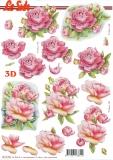 3D-Bogen Rosen von Nouvelle (8215785)