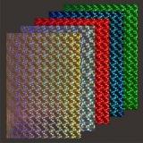10x Hologramm-Karton Letter P von LeSuh (418874)