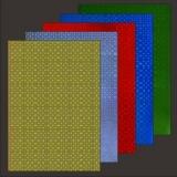 10x Hologramm-Karton Darts von LeSuh (418803)