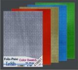 10x Hologramm-Karton Color Swatch von LeSuh (418891)