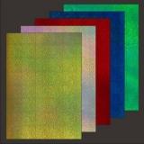 10x Hologramm-Karton Records von LeSuh (418807)