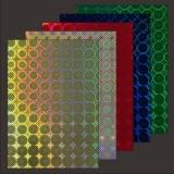 10x Hologramm-Karton Squares Lone von LeSuh (418871)